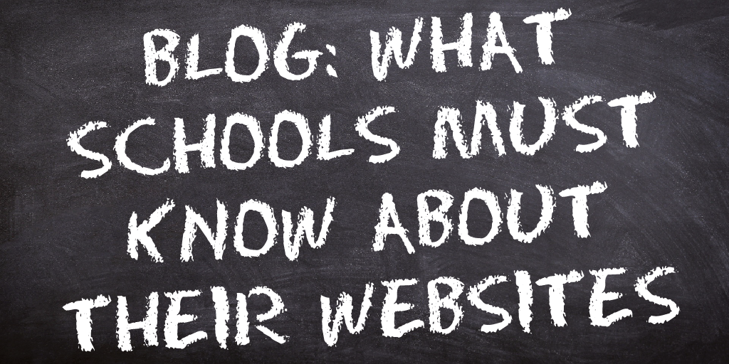 Five things schools must remember about their websites