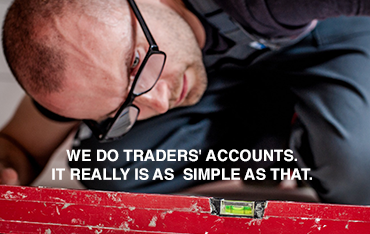Tax for Trades website by Bees Words and Websites, business website design, Wirral website design